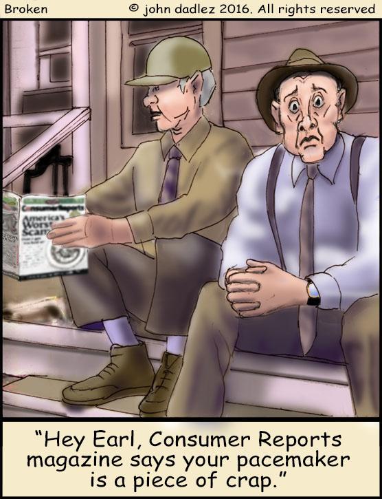 Broken Comic - Consumer Reports